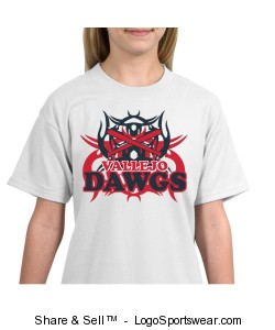 Hanes Youth Short Sleeve Beefy T-Shirt Design Zoom